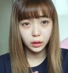韓国留学生momonaのすっぴん